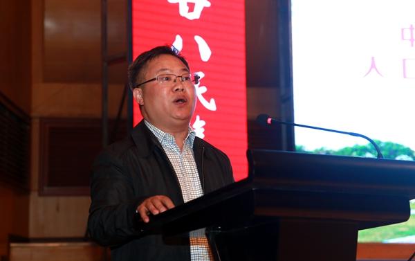 中国人类学民族学研究会副秘书长张世保宣读批复并致辞