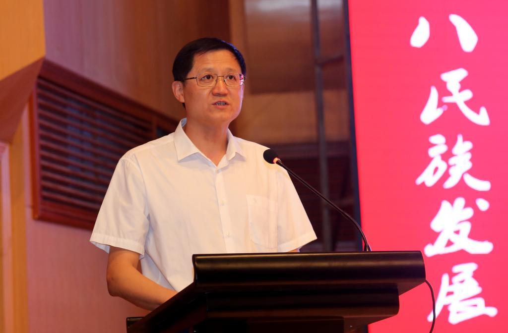 黑龙江省社会科学界联合会副主席张正明致辞