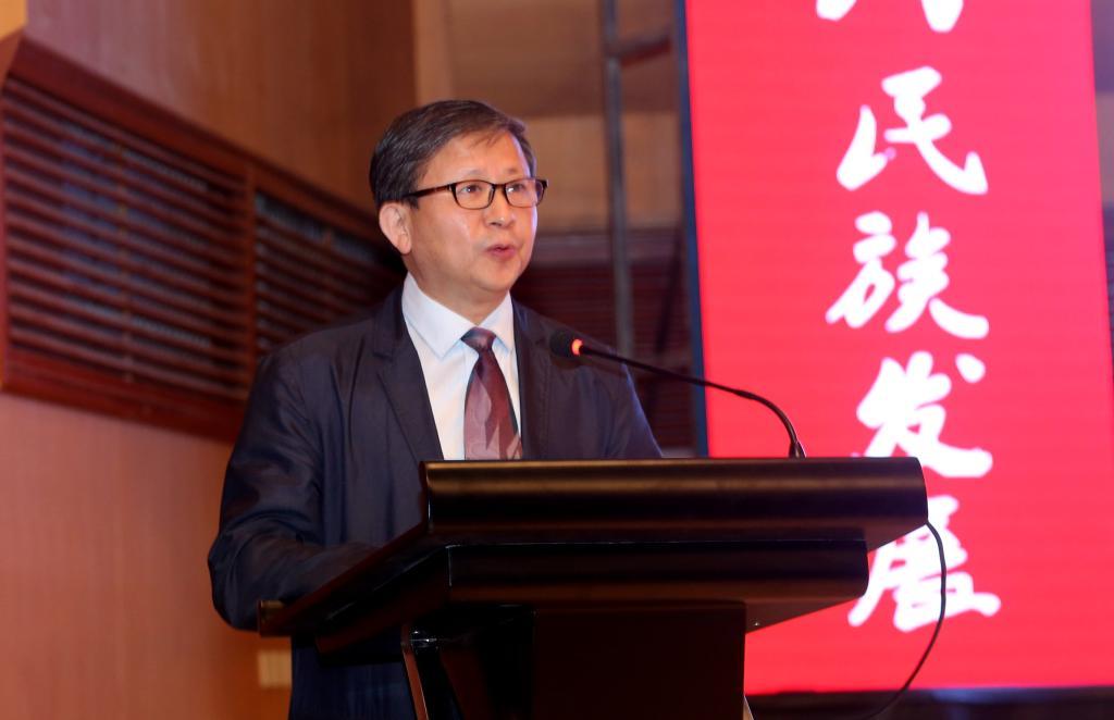 黑龙江省民族事务委员会主任刘明致辞