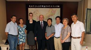 方勇副所长会见来访的德国联邦政府移民与少数民族问题专员