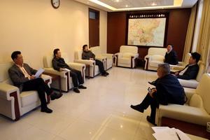 内蒙古师范大学校长一行到访民族学与人类学研究所