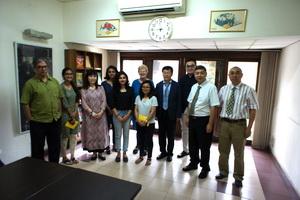 尹虎彬副所长等赴印度和尼泊尔进行学术交流