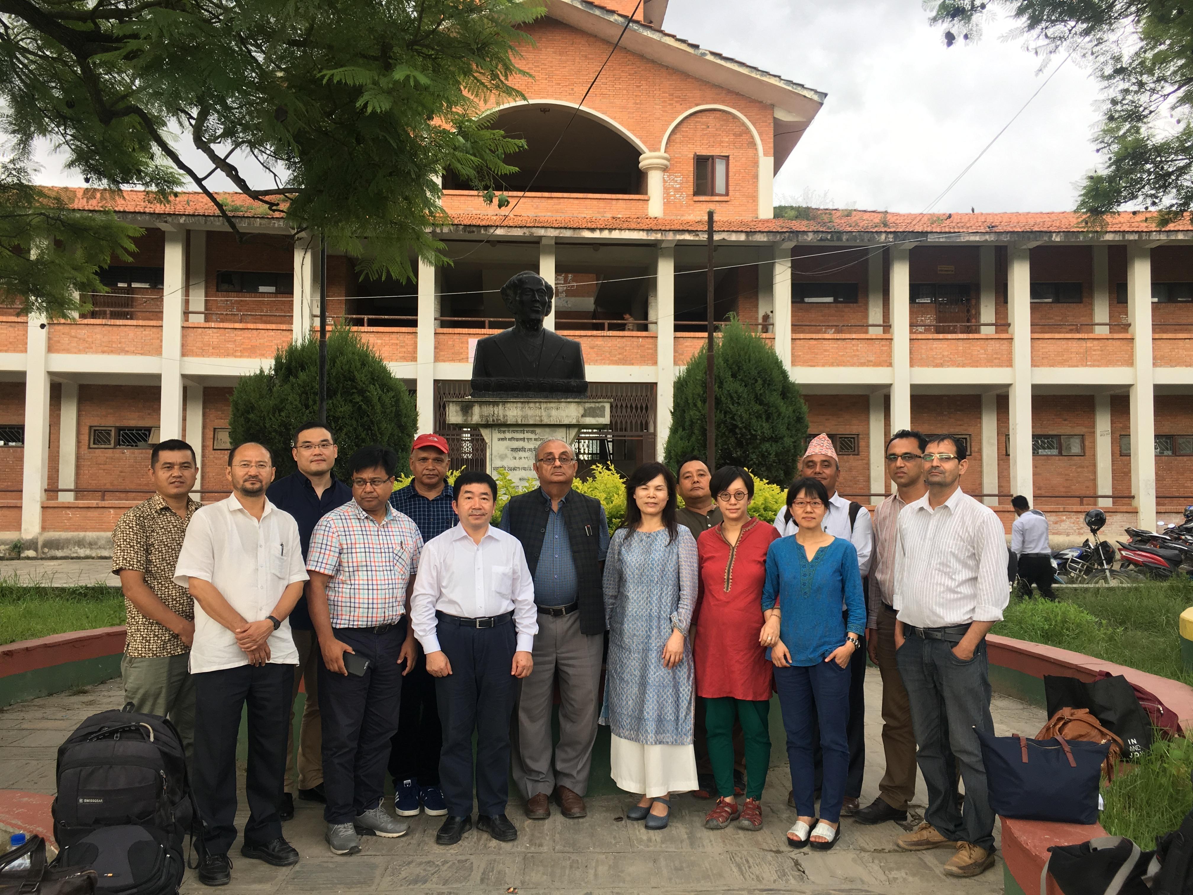"""中国社会科学院""""智库丝路万里行""""印度和尼泊尔调研组工作通讯"""