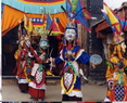 类乌齐寺的格萨尔王传的表演