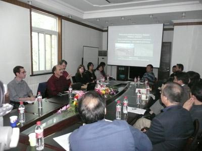 德国莱比锡大学安德雷博士在中国社科院民族所讲座2