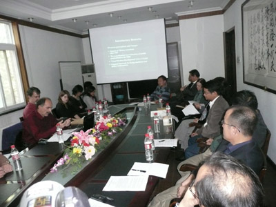 德国莱比锡大学安德雷博士在中国社科院民族所讲座3