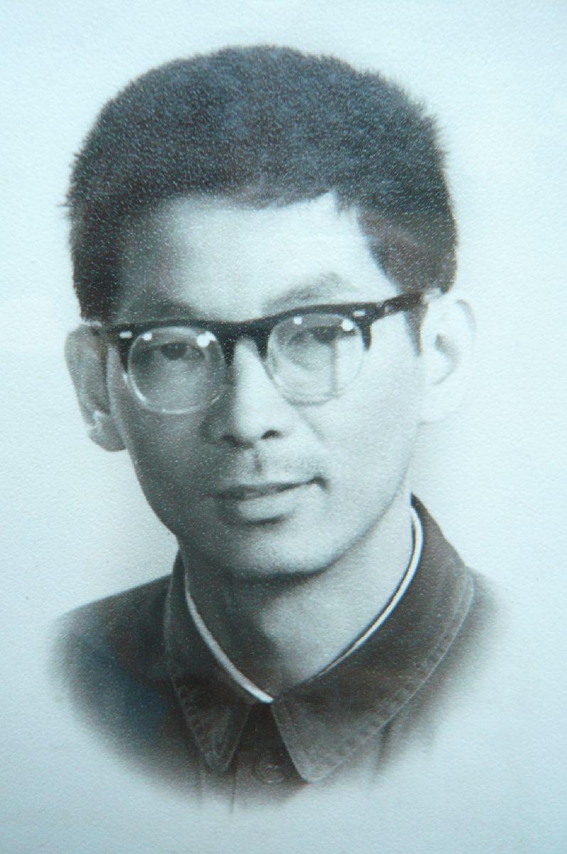 大学时期之张佳生先生(1978)