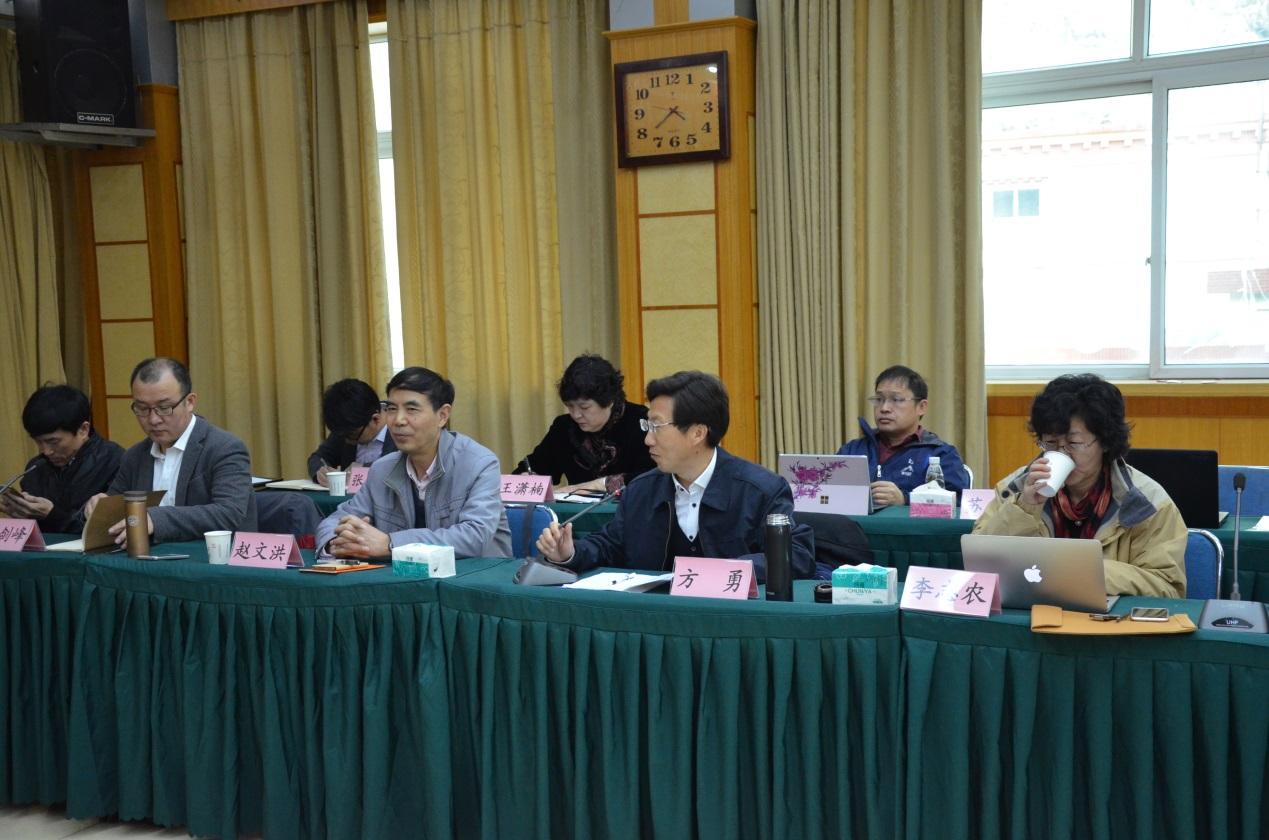 调研组与甘孜州丹巴县相关部门及本土专家开展座谈会